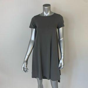 LulaRow gray high low t shirt dress, Size XXS